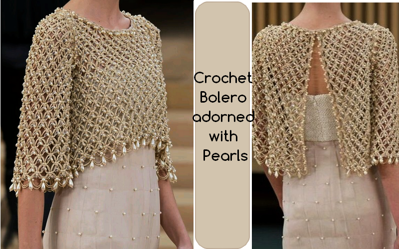 crochet bolero pattern instructions
