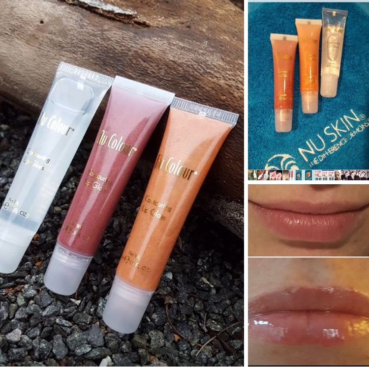 nu colour contouring lip gloss instructions