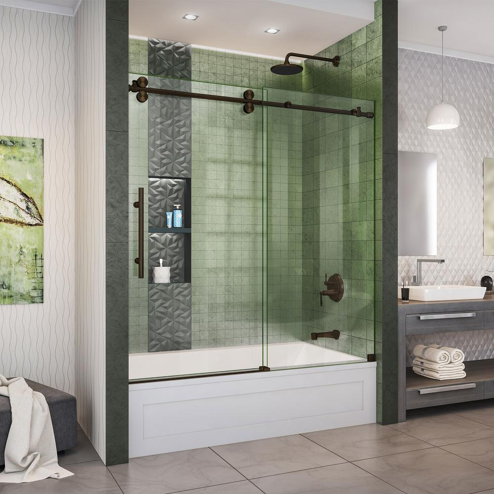 sterling frameless shower door installation instructions