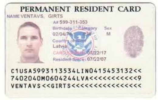green card application instructions