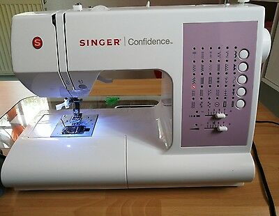 singer confidence instructions 7463