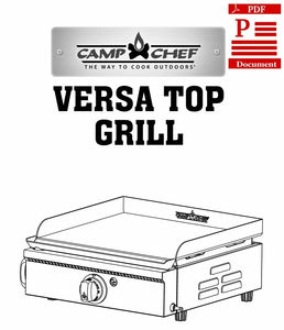 camp chef pizza oven instructions