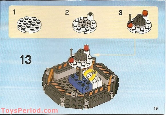 lego 7739 building instructions