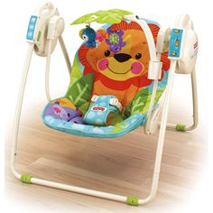 fisher price rainforest swing chair instructions