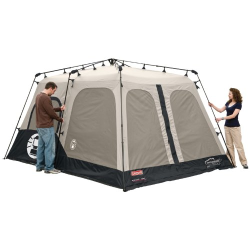 coleman bayside 7 person tent instructions