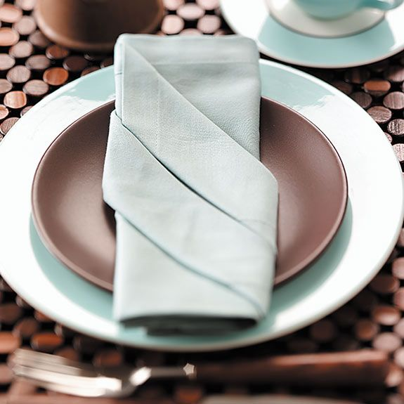napkin folding instructions rose