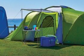 pro action 4 man dome tent instructions