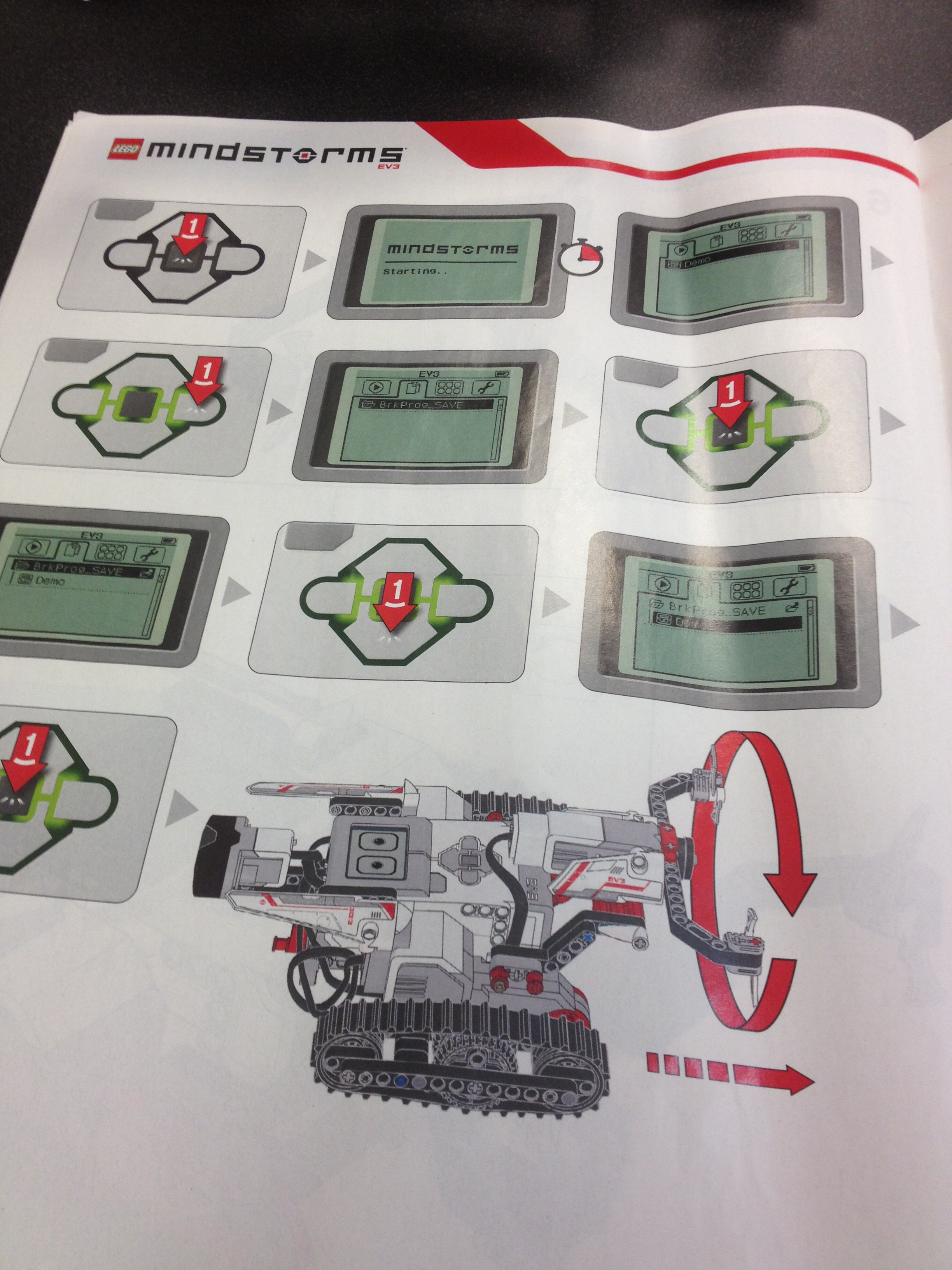 ev3 remote control rc instructions