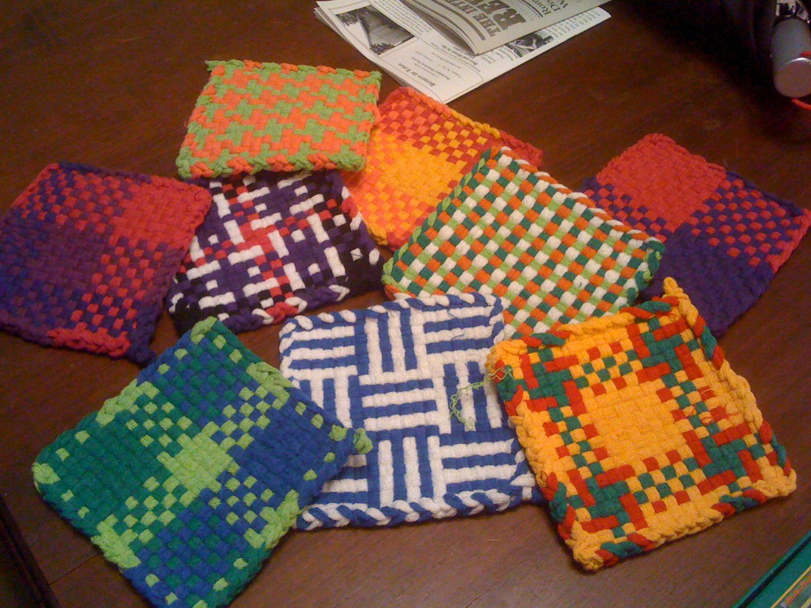 craft loops potholder instructions