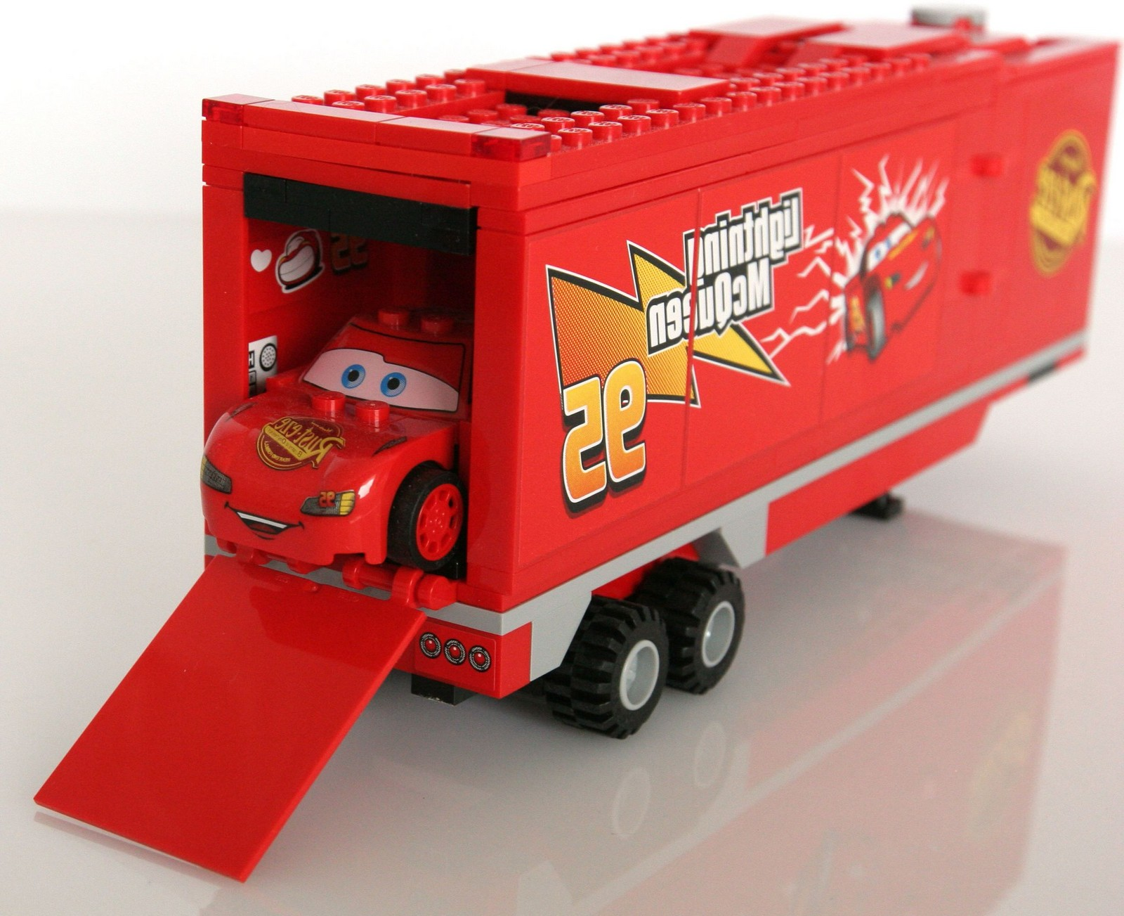 lego city race car truck instructions