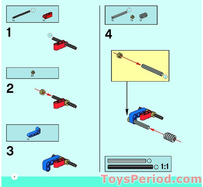 official lego basic mechanisms instructions