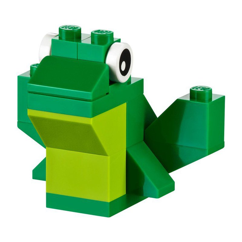 lego classic frog instructions