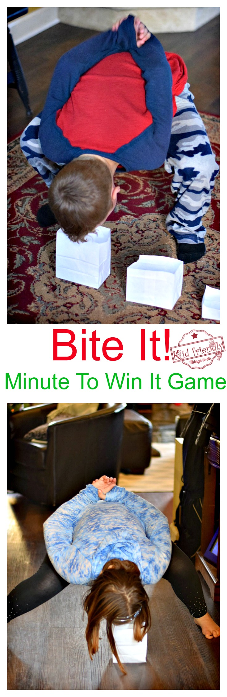 minute to win it christmas games instructions