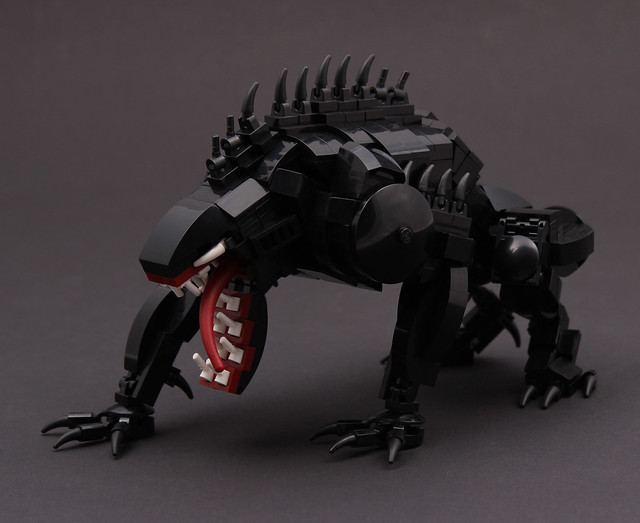 lego spiderman venom instructions