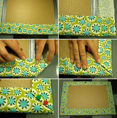 padded memo board instructions