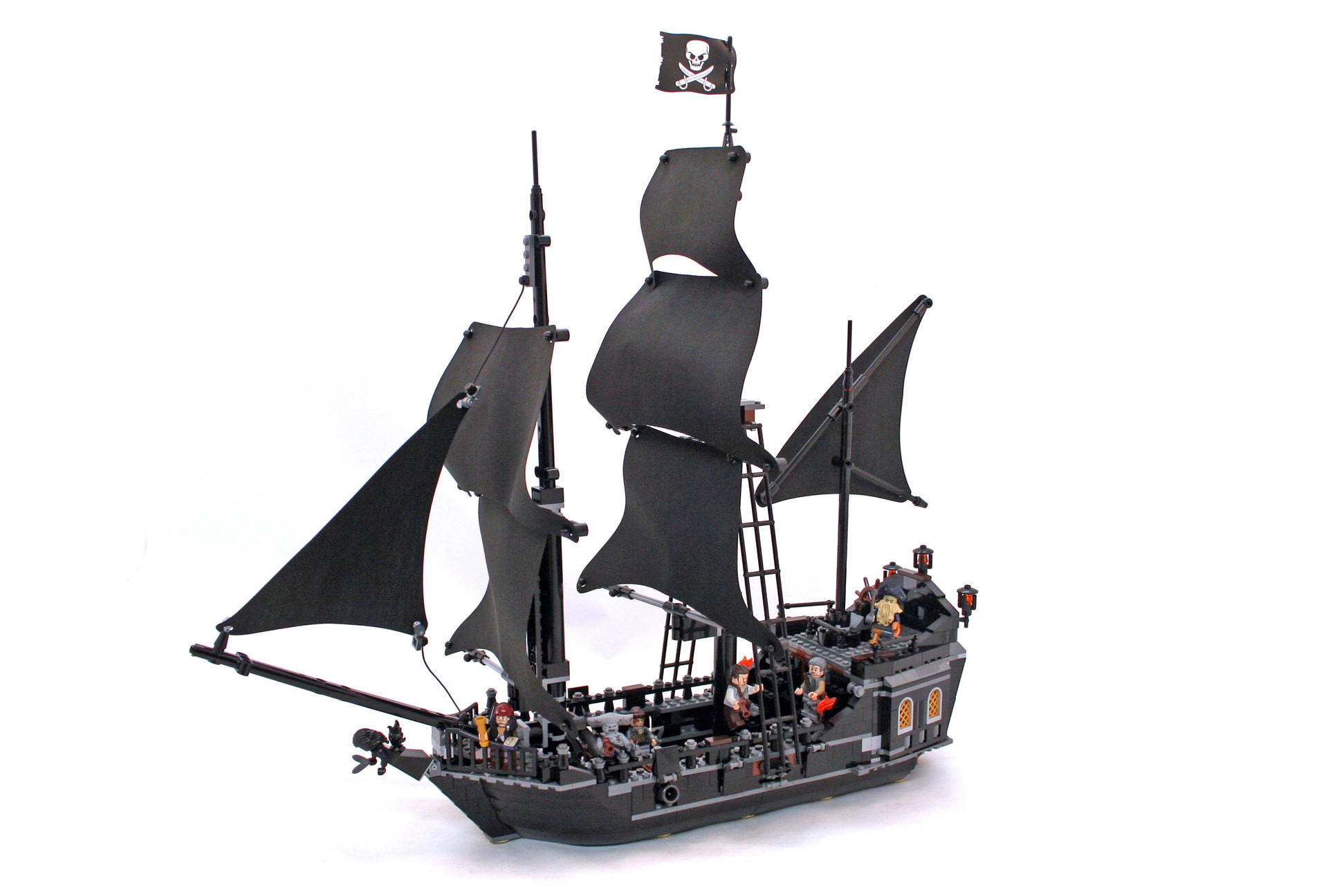 lego pirates of the caribbean sets instructions