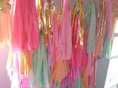 balloon tassel tail instructions