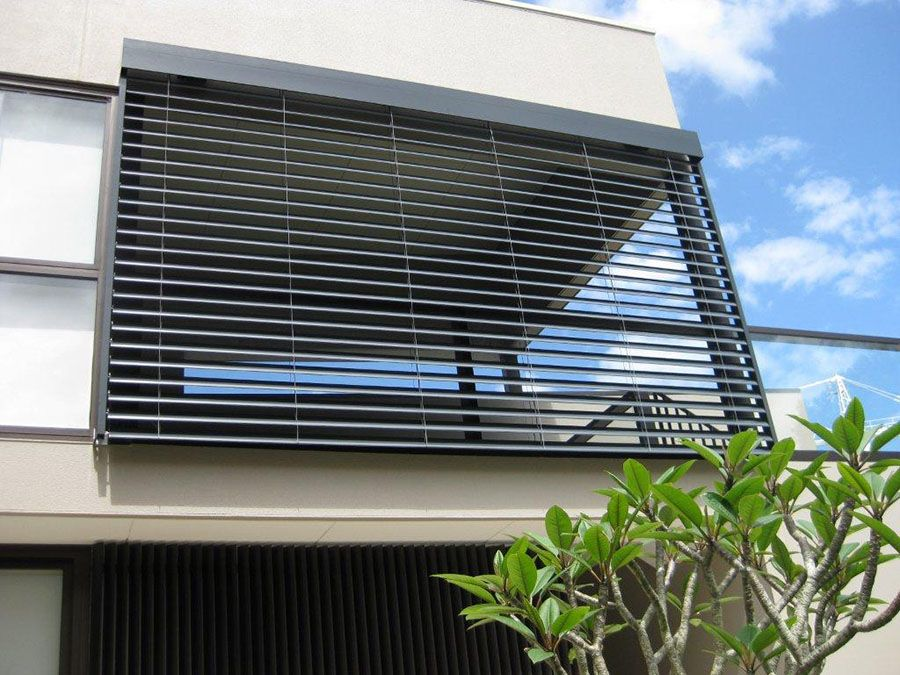 instruction for installing aluminium external shutters