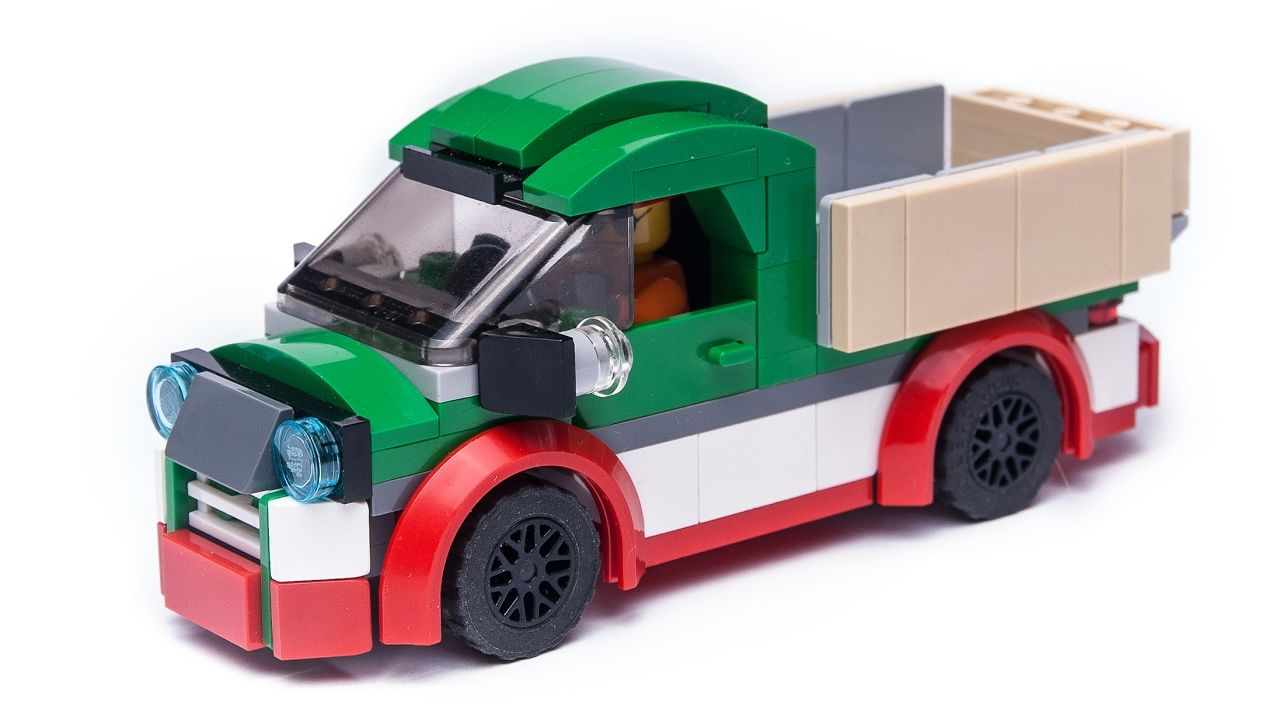 how to make a lego car step by step instructions