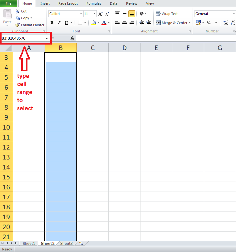excel instructions in cells