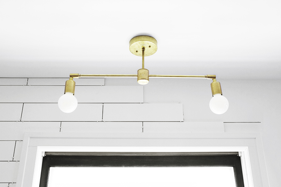 single pendant light white instructions