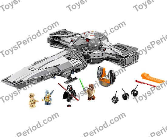lego sith infiltrator 75096 instructions