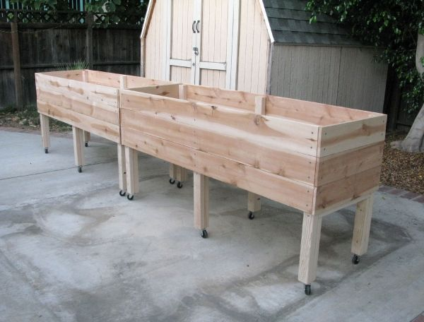 elevated garden bed instructions