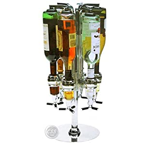 oggi 3 bottle revolving liquor dispenser instructions