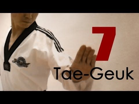 taekwondo instructions in korean