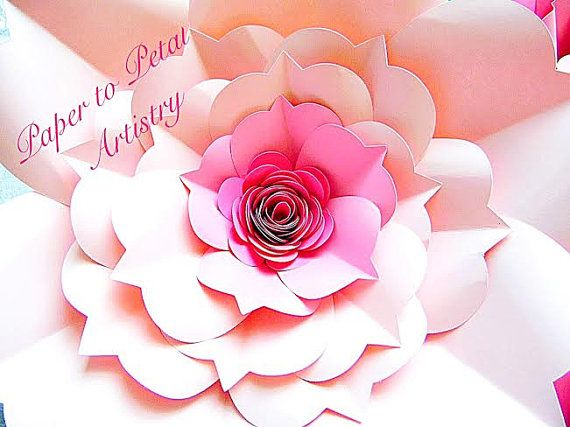 printable instructions for crepe paper flowers