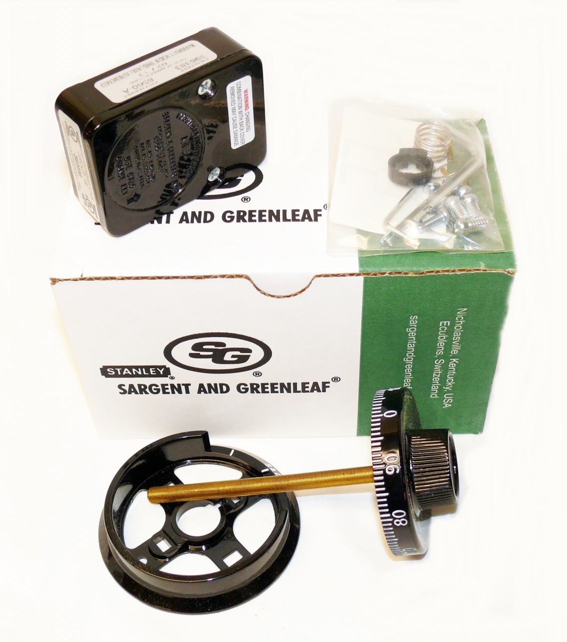 sargent and greenleaf 3 wheel instructions