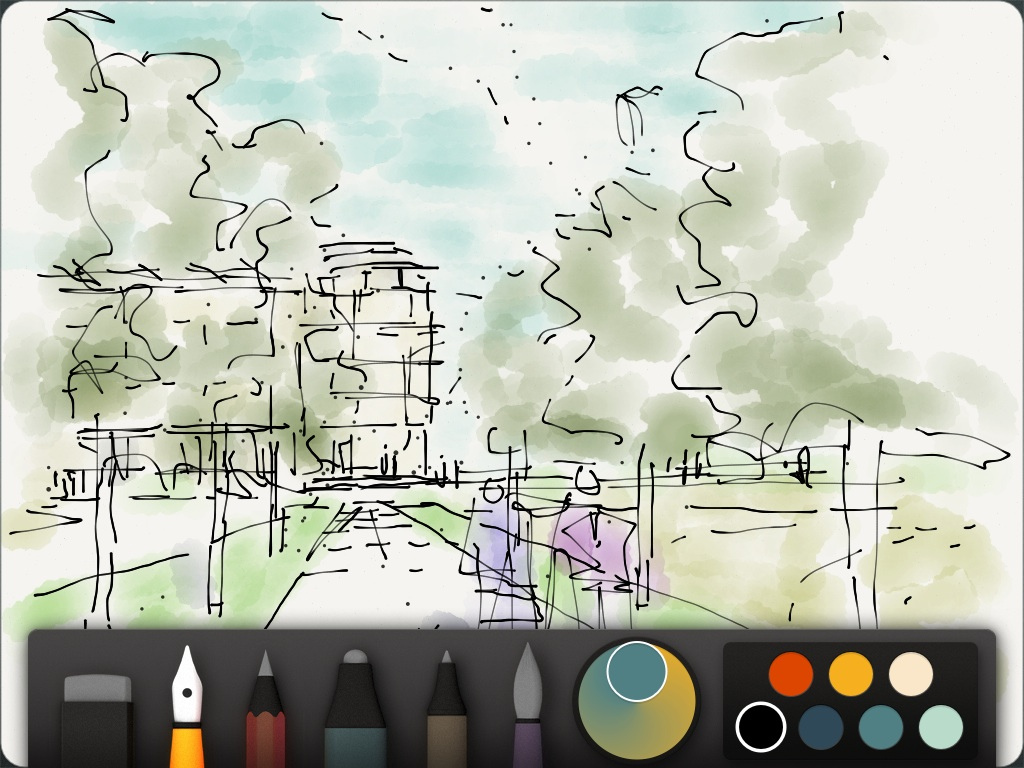 rapid sketch for ipad instructions