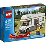 lego city town car and caravan 4435 instructions