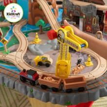 kidkraft waterfall junction train set and table assembly instructions