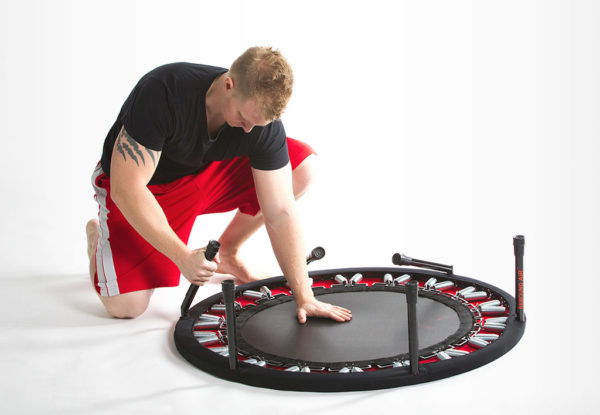 action trampoline assembly instructions