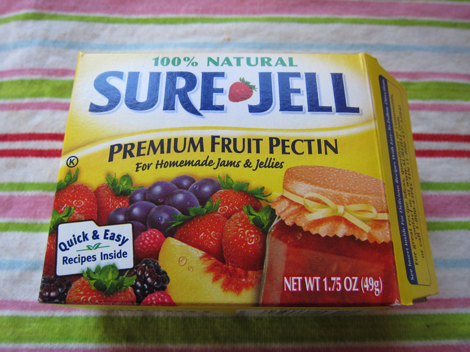 sure jell pectin instructions