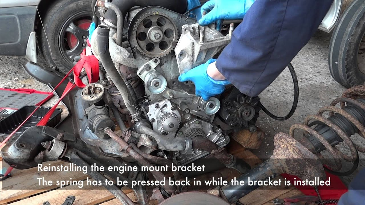 peugeot 307ew10j4s timing belt replacement instructions