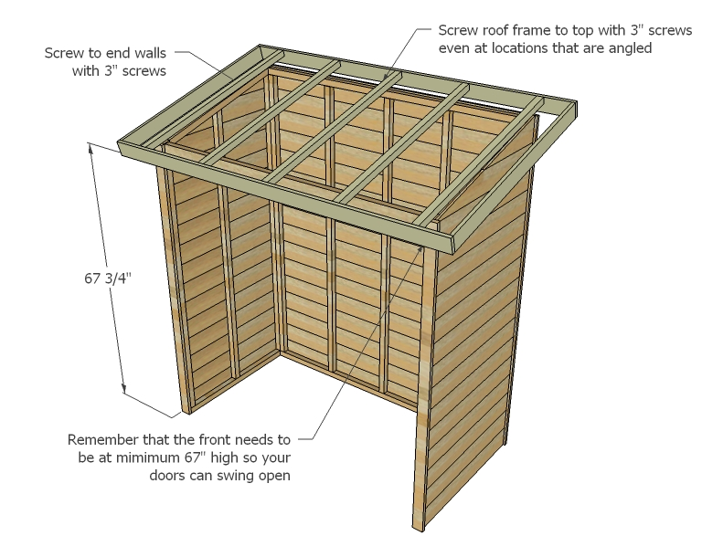 pinnacle outdoor garden shed instruction