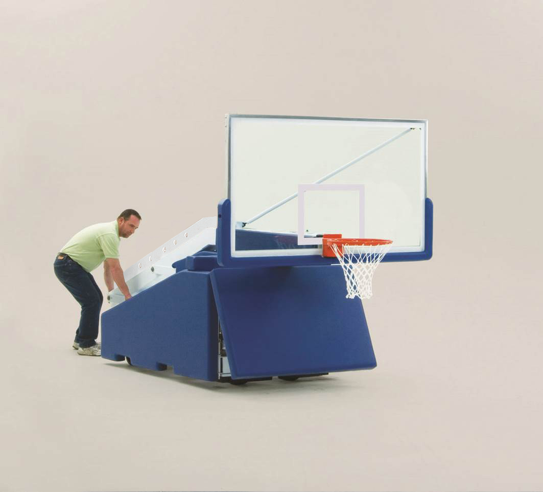 stats portable basketball system instructions