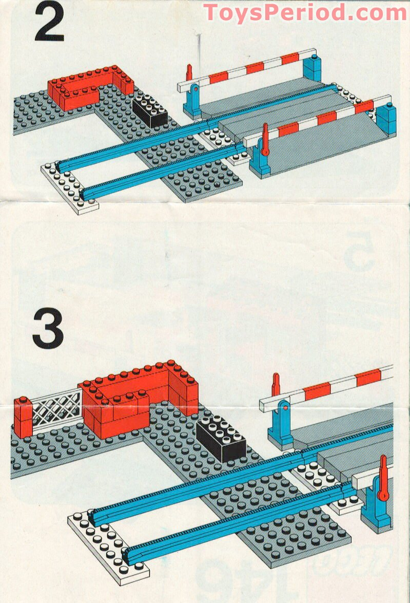 lego instructions old school train black high hat