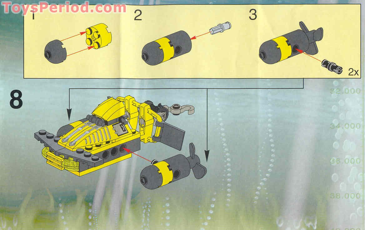 hydrodynamic lego mission 5 instructions for robot brick