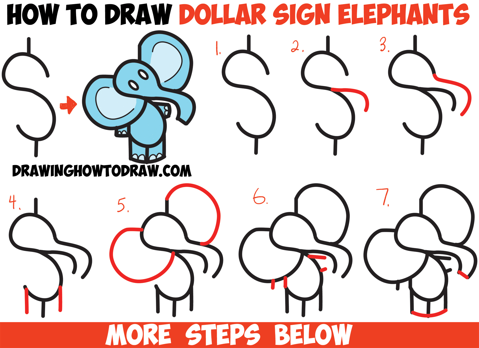 instructions on how to draw for kids