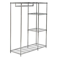 bed bath and beyond 2 tier adjustable garment rack instructions