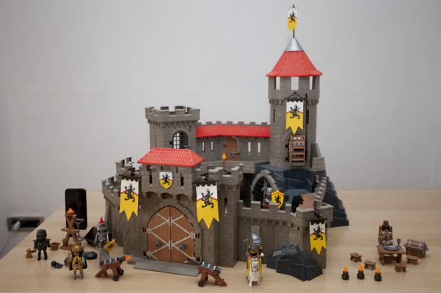 playmobil castle instructions 4865