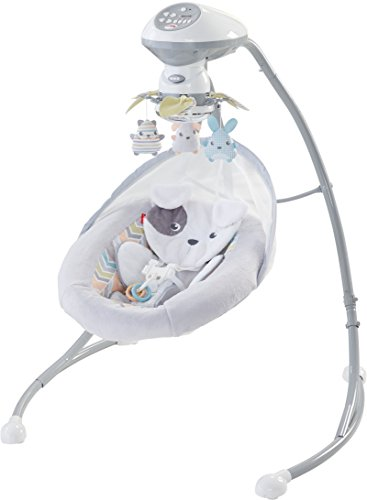 fisher price my little snugapuppy swing instructions