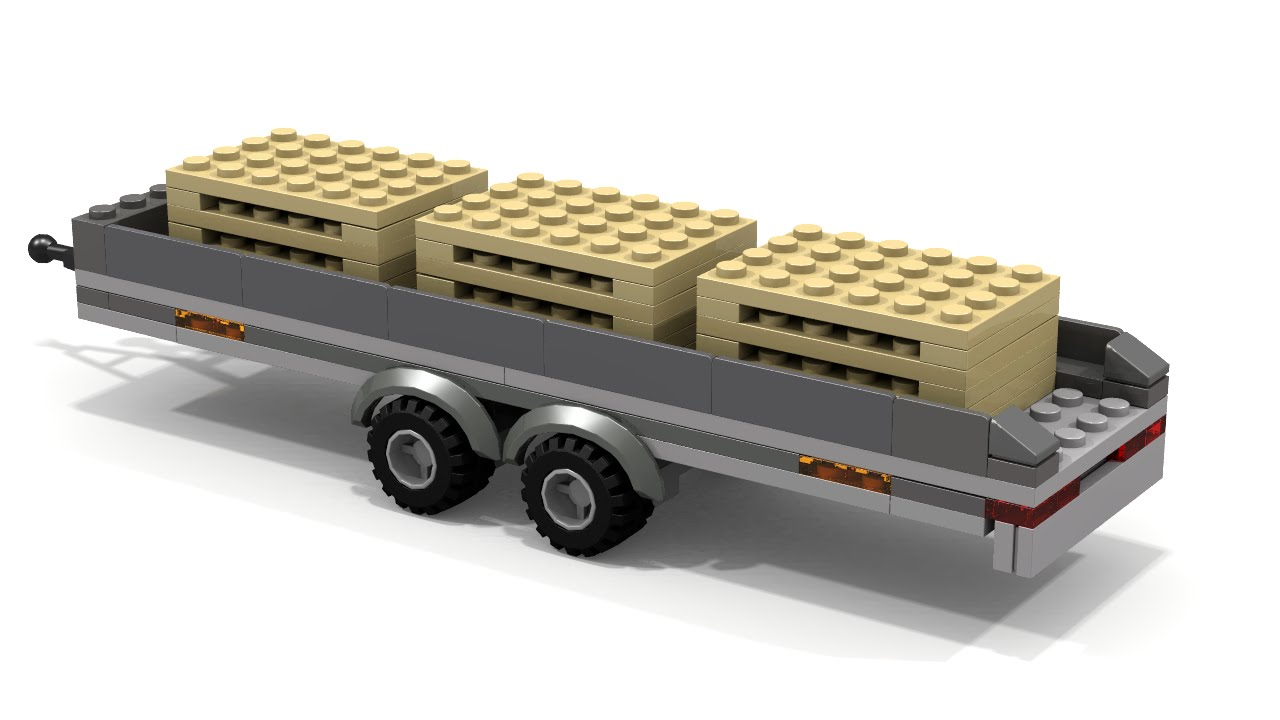 lego city flatbed tow truck instructions
