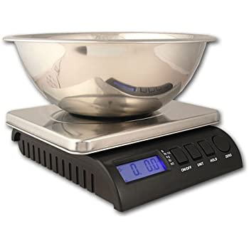 instruction for digital scale with stainless steel bowl