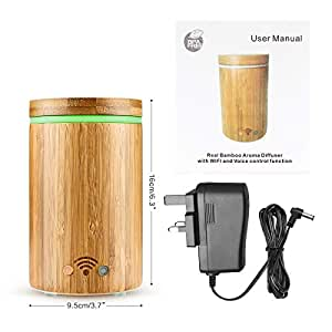 oil garden bamboo ultrasonic vaporiser instructions