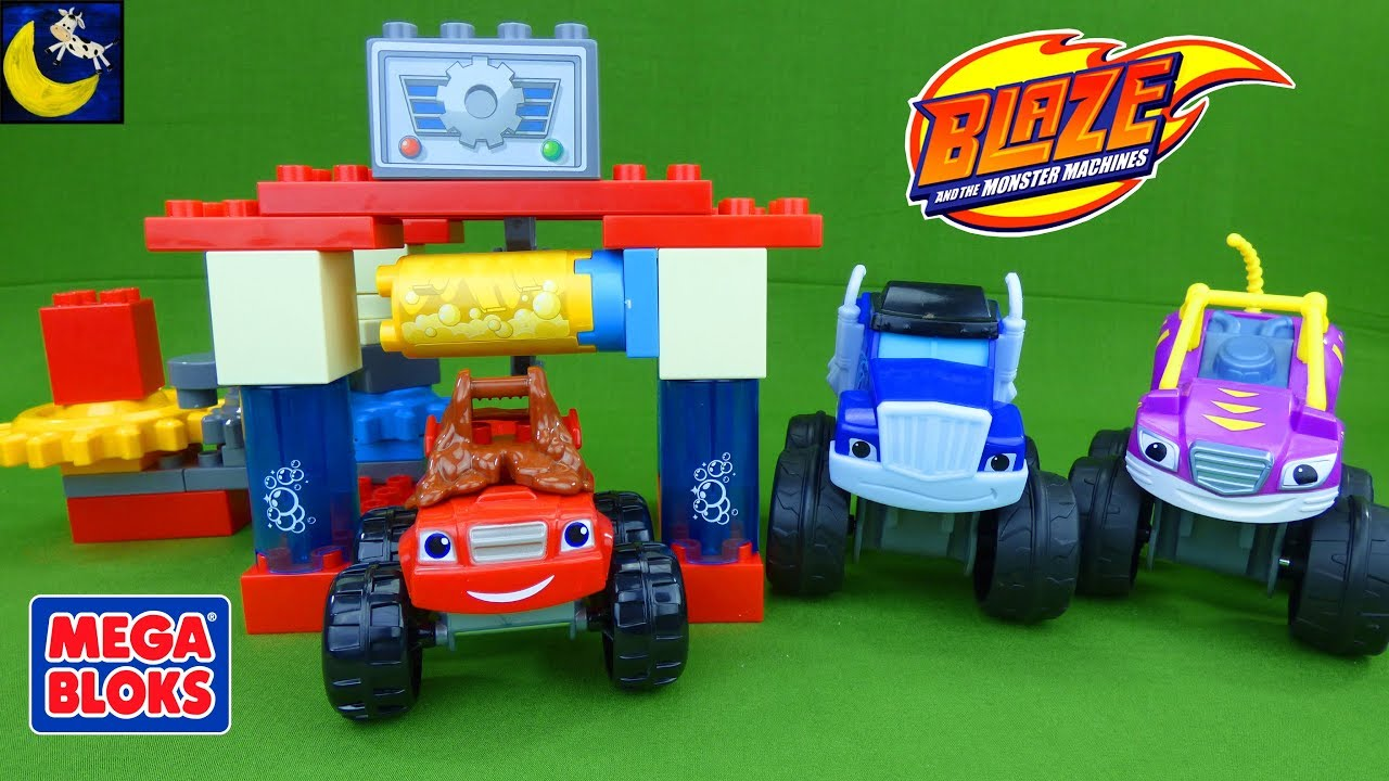 monster truck mega bloks instructions