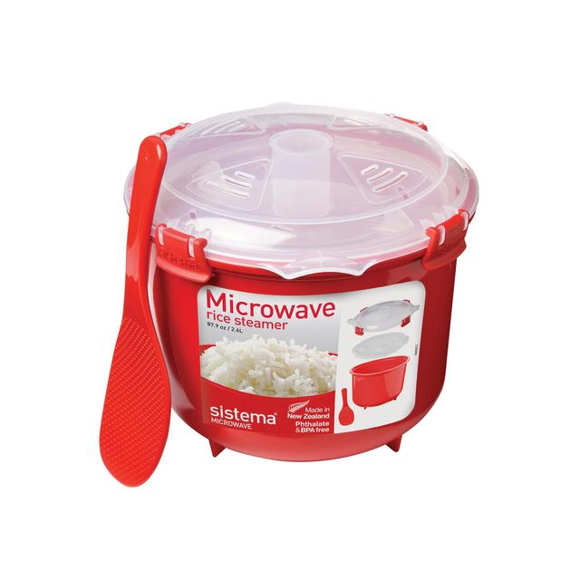 sistema microwave rice instructions
